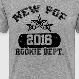 New Pop 2016 Rookie Dept T-Shirts - Men's Premium T-Shirt