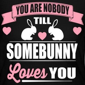 Somebunny loves you Long Sleeve Shirts - Women's Long Sleeve Jersey T-Shirt