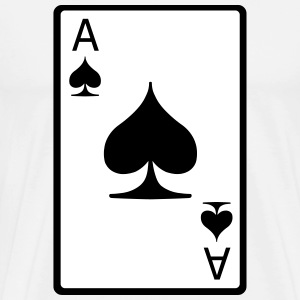 Ace of Spades T-Shirts - Men's Premium T-Shirt