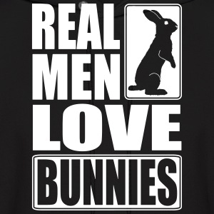 Real men love bunnies Hoodies - Men's Hoodie