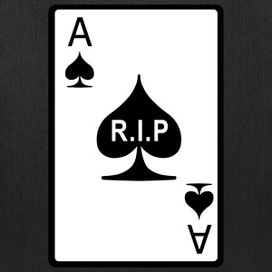 Rest in Peace Ace of Spades Bags & backpacks - Tote Bag