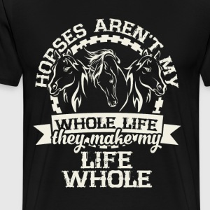 Horse Cute T-Shirt - Men's Premium T-Shirt