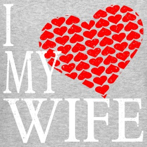I Love My Wife Long Sleeve Shirts - Crewneck Sweatshirt