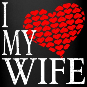 I Love My Wife Mugs & Drinkware - Full Color Mug