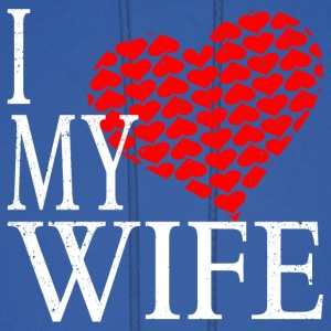 I Love My Wife Hoodies - Men's Hoodie