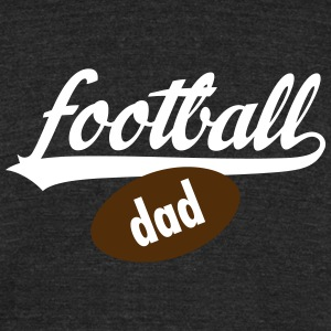 Football Dad T-Shirts - Unisex Tri-Blend T-Shirt by American Apparel