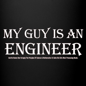 My Guy Is An Engineer Full Color Mug - Full Color Mug