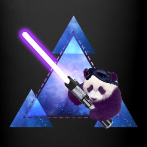 Galactic Panda With Lightsaber Mugs & Drinkware - Full Color Mug