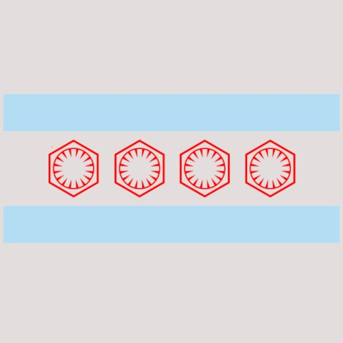 Chicago First Order Flag