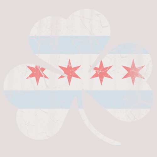 Irish Chicago Flag Shamrock
