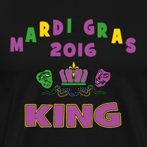 Mardi Gras King 2016 New Orleans - Men's Premium T-Shirt