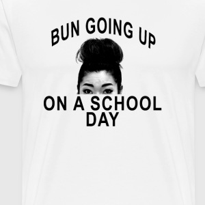 bun_going_up_on_school_day - Men's Premium T-Shirt