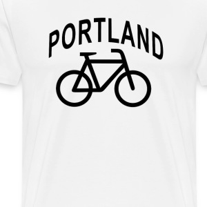 i_bike_portland_oregon - Men's Premium T-Shirt