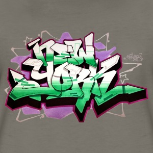RANGE - Design for New York Graffiti Color Logo Women's T-Shirts - Women's Premium T-Shirt