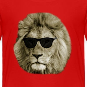 Cool Lion with sunglasses Baby & Toddler Shirts - Toddler Premium T-Shirt