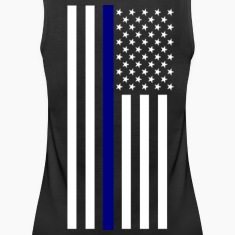 Thin Blue Line Ladies Tank