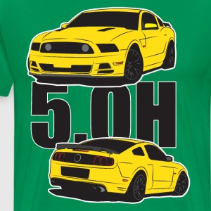 5.Oh Stang - Men's Premium T-Shirt