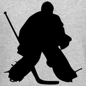 Hockey Goalkeeper  Long Sleeve Shirts - Crewneck Sweatshirt