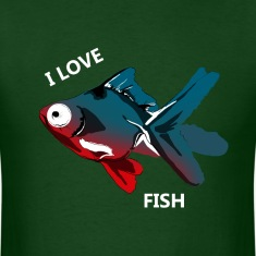Mens Animal Welfare Fish Shirt