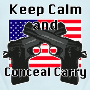Conceal Carry Patriot - Short Sleeve Baby Bodysuit