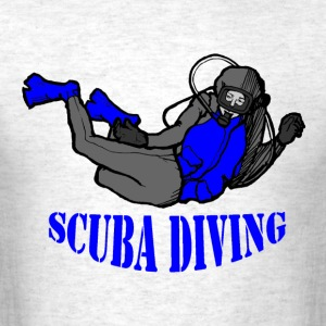 SCUBA Diving Deep Sea Diver - Men's T-Shirt