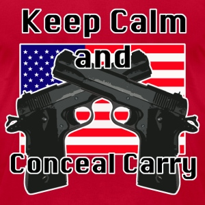 Conceal Carry Patriot - Men's T-Shirt by American Apparel