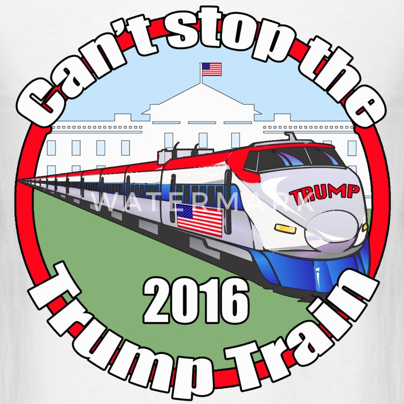 Trump train - Men's T-Shirt