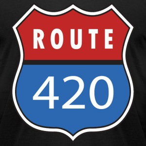 Route 420 - Men's T-Shirt by American Apparel