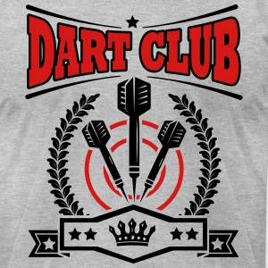 Dart Club T-Shirts - Men's T-Shirt by American Apparel