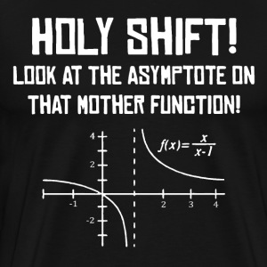 Holy Shift Funny Math T-Shirt - Men's Premium T-Shirt