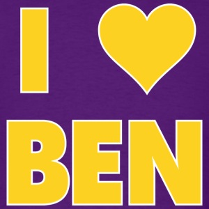 I LOVE BEN Simmons LSU T-Shirt - Men's T-Shirt