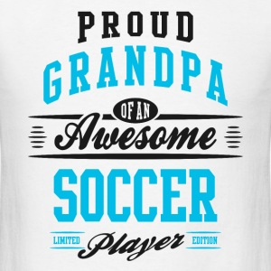 Grandpa Awesome Soccer T-Shirts - Men's T-Shirt