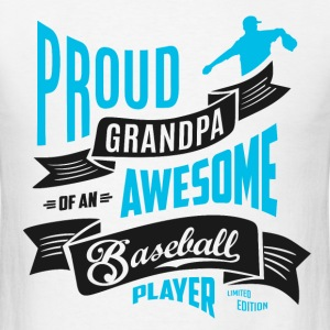 Grandpa Awesome Baseball T-Shirts - Men's T-Shirt