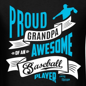 Grandpa Awesome baseball b T-Shirts - Men's T-Shirt
