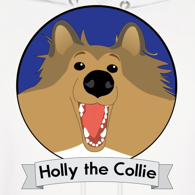 Holly the Collie Basic - Mens Hoodie