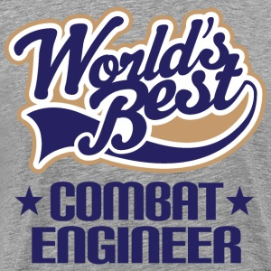 Combat Engineer Field Engineering T-Shirts - Men's Premium T-Shirt