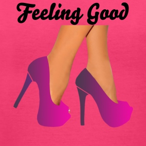 Feeling Good in heels - Women's V-Neck T-Shirt