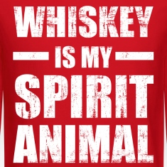 Whiskey Spirit Animal Long Sleeve Shirts