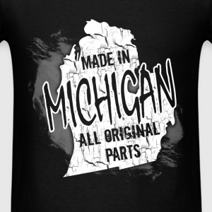 Michigan T-Shirt - Made In Michigan - Men's T-Shirt