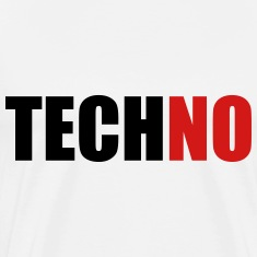 techNO (OneWordPoetry) T-Shirts