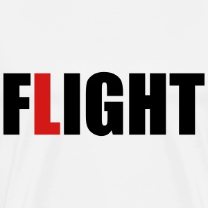 fLight (OneWordPoetry) T-Shirts - Men's Premium T-Shirt