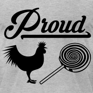 Proud Cock Sucker - Rebus T-Shirts - Men's T-Shirt by American Apparel