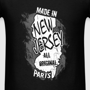 New Jersey T-shirt - Made In New Jersey - Men's T-Shirt