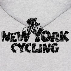 New York Cycling Vintage Black Hoodies