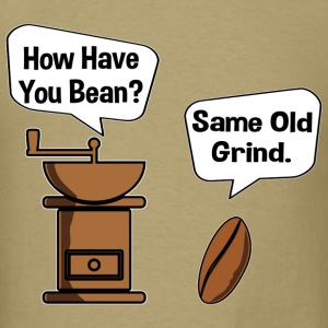 Bean and Grinder Toon T-Shirts - Men's T-Shirt