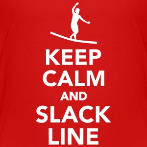 Keep calm and Slackline Kids' Shirts - Kids' Premium T-Shirt