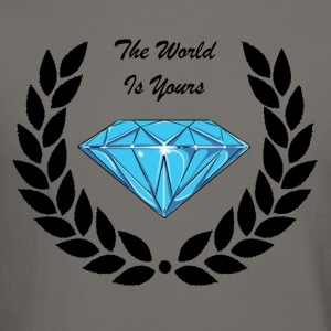 The World Is Yours. Long Sleeve Shirts - Crewneck Sweatshirt