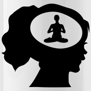 Only Meditation On My Mind Mugs & Drinkware - Water Bottle