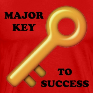 Major Key To Success T-Shirts - Men's Premium T-Shirt