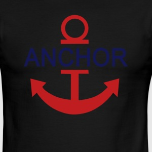 anchor - Men's Ringer T-Shirt